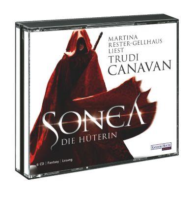 Die Saga von Sonea Trilogie Band 1: Sonea - Die Hüterin (6 Audio-CDs), Trudi Canavan