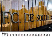Die Schienen von Soller und Port de Soller (Wandkalender 2019 DIN A3 quer) - Produktdetailbild 1