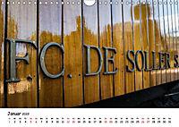 Die Schienen von Soller und Port de Soller (Wandkalender 2019 DIN A4 quer) - Produktdetailbild 1