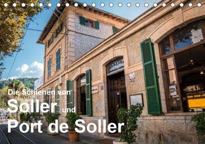 Die Schienen von Soller und Port de Soller (Tischkalender 2019 DIN A5 quer), Dirk Sulima