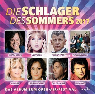 Die Schlager des Sommers 2017 (2 CDs), Various
