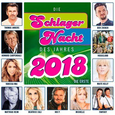 Die Schlagernacht des Jahres 2018 - Die Erste, Various