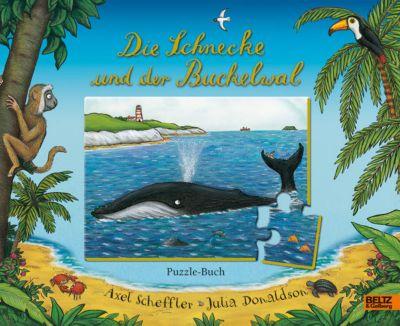 Die Schnecke und der Buckelwal Puzzle-Buch (Rahmenpuzzle), Axel Scheffler, Julia Donaldson