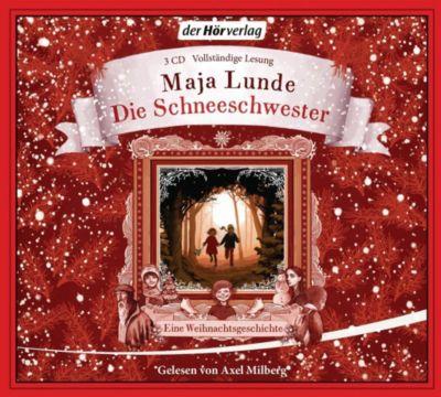 Die Schneeschwester, 4 Audio-CDs, Maja Lunde