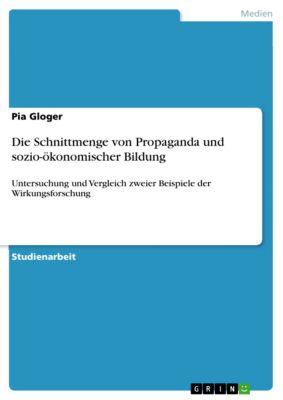 Die Schnittmenge von Propaganda und sozio-ökonomischer Bildung, Pia Gloger