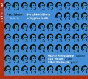 Die Schöne Müllerin/Arpeggione, Konigsberger, Franssen, Steenbergen