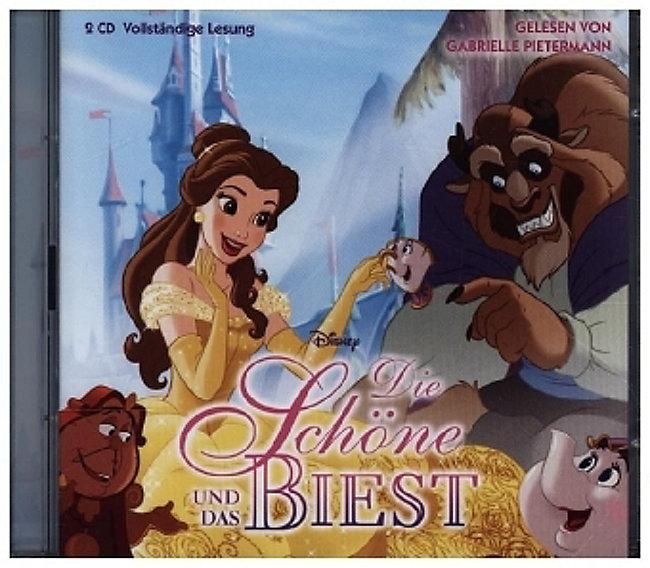 Die Schöne und das Biest, 2 Audio-CDs Hörbuch günstig