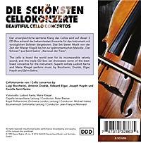 Die Schönsten Cellokonzerte - Produktdetailbild 1