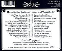 Die Schönsten Deutschen Kinder-Und Wiegenlieder - Produktdetailbild 1