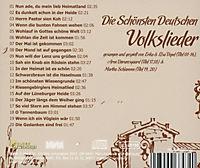 Die Schönsten Deutschen Volkslieder - Produktdetailbild 1