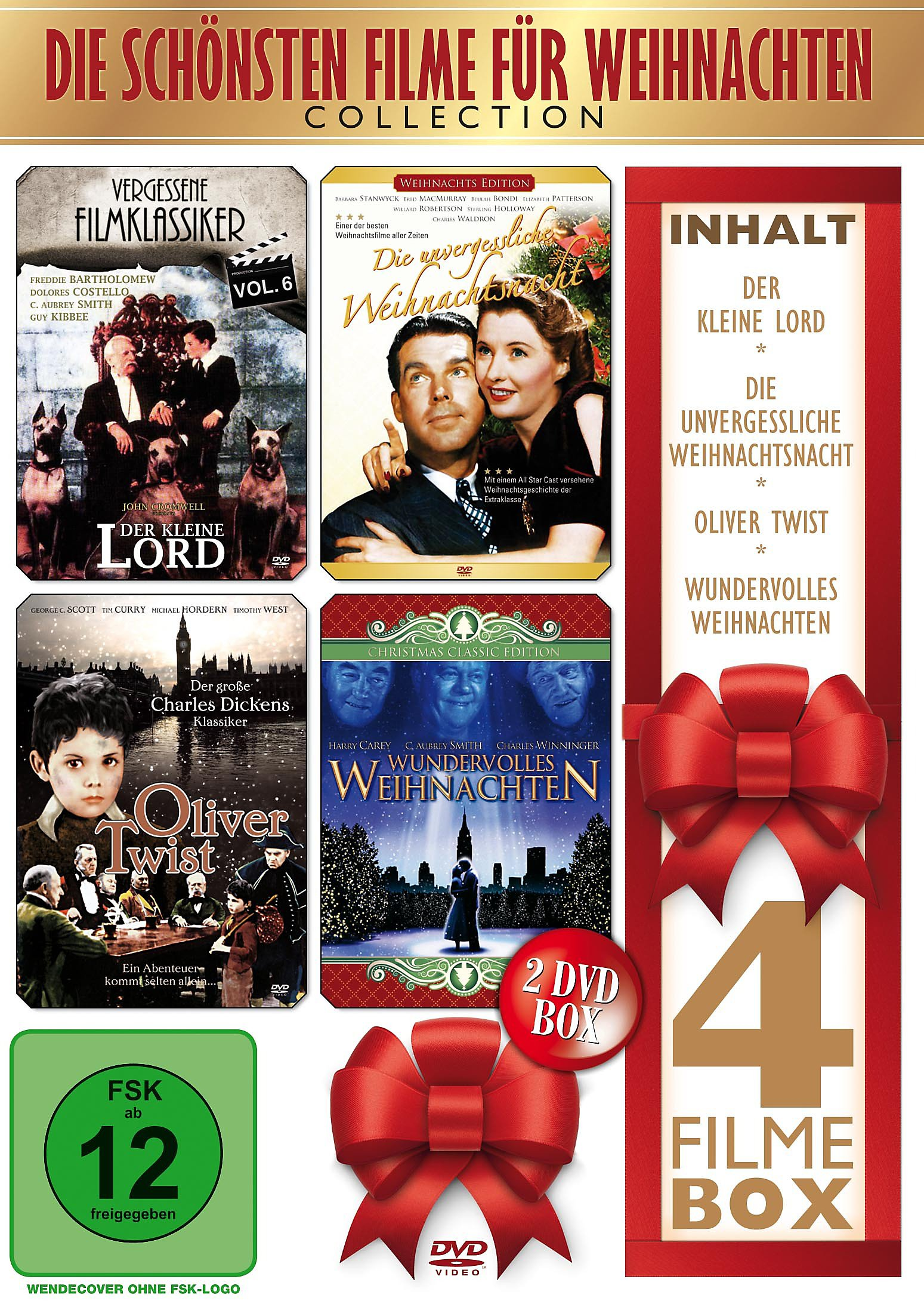 Die schönsten Filme für Weihnachten DVD bei Weltbild.ch bestellen