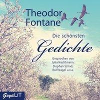 Die schönsten Gedichte, 1 Audio-CD, Theodor Fontane