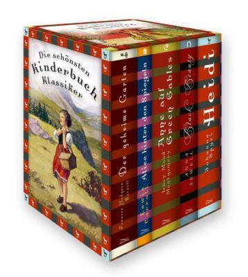 Die schönsten Kinderbuch-Klassiker, Frances Hodgson Burnett, Lewis Carroll, Lucy Maud Montgomery, Anna Sewell, Johanna Spyri