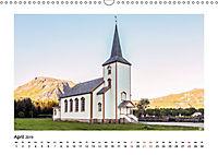 Die schönsten Kirchen der Lofoten (Wandkalender 2019 DIN A3 quer) - Produktdetailbild 4