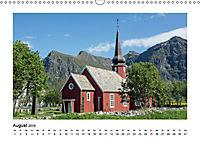 Die schönsten Kirchen der Lofoten (Wandkalender 2019 DIN A3 quer) - Produktdetailbild 8