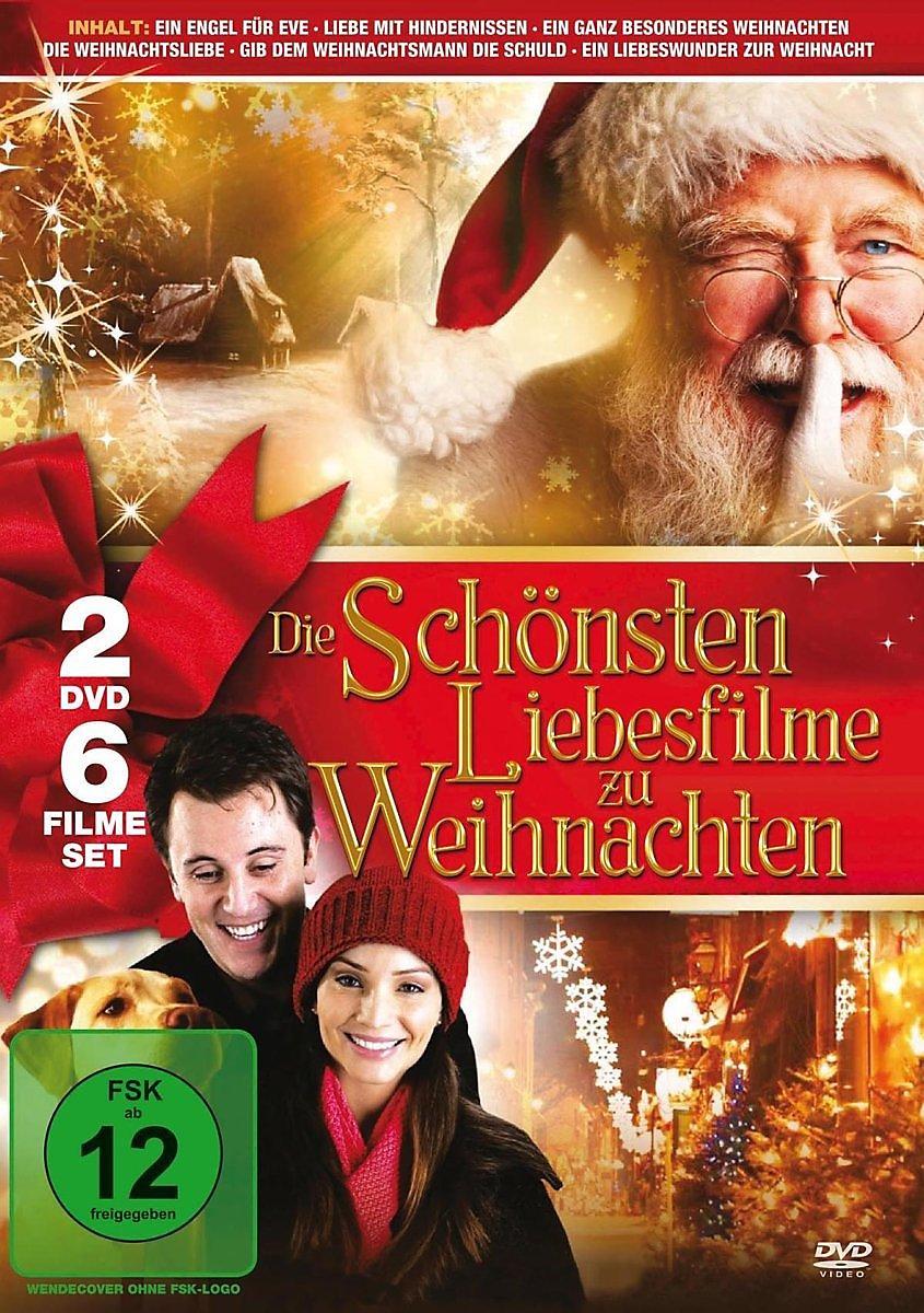Die schönsten Liebesfilme zu Weihnachten DVD | Weltbild.de