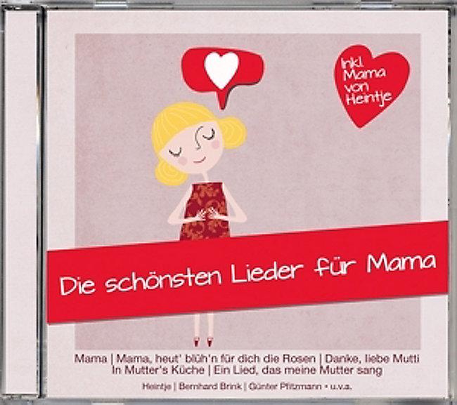 Die Schönsten Lieder Für Mama Cd Von Various Bei Weltbildde