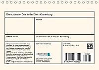 Die schönsten Orte in der Eifel - Kronenburg (Tischkalender 2019 DIN A5 quer) - Produktdetailbild 13