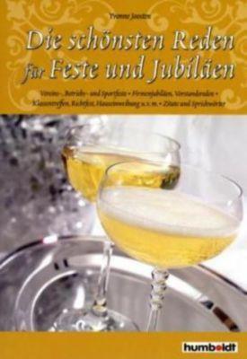 Die schönsten Reden für Feste und Jubiläen, Yvonne Joosten