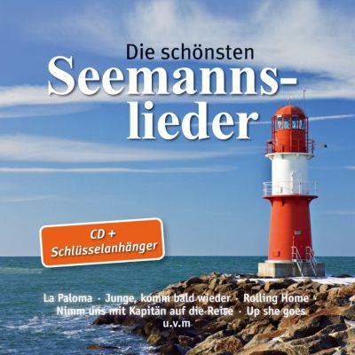Die schönsten Seemannslieder + Schlüsselanhänger Schiff mit Anker, V.a