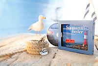 Die schönsten Seemannslieder + Schlüsselanhänger Schiff mit Anker - Produktdetailbild 1