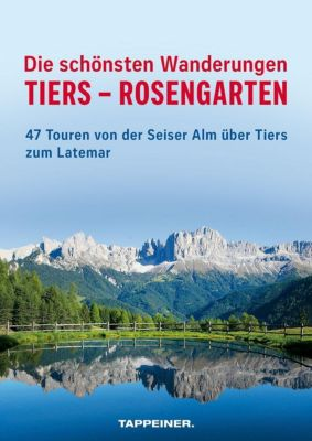 Die schönsten Wanderungen Tiers - Rosengarten, mit Topografischer Karte 1:25.000 - Maurizio Capobussi |