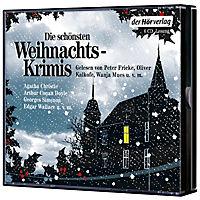 Die schönsten Weihnachtskrimis, 6 Audio-CDs - Produktdetailbild 1