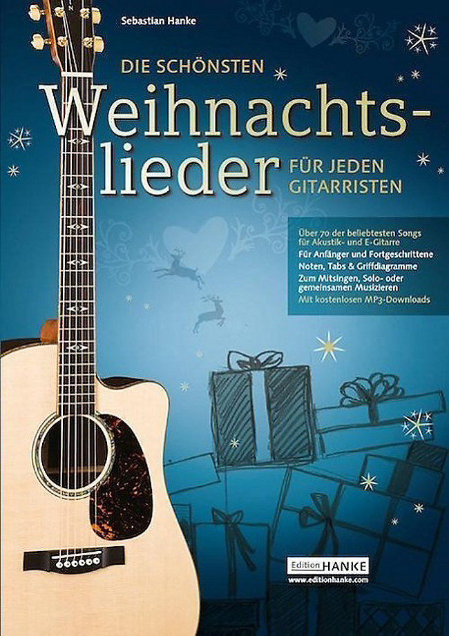 Die schönsten Weihnachtslieder für jeden Gitarristen Buch