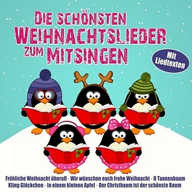 Deutsche Weihnachtslieder Zum Mitsingen.Die Schönsten Weihnachtslieder Zum Mitsingen Cd Bei Weltbild De
