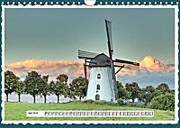 Die schönsten Windmühlen am Niederrhein (Wandkalender 2019 DIN A4 quer) - Produktdetailbild 4