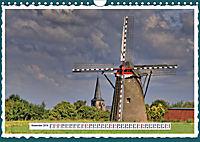 Die schönsten Windmühlen am Niederrhein (Wandkalender 2019 DIN A4 quer) - Produktdetailbild 11