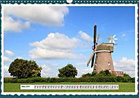 Die schönsten Windmühlen am Niederrhein (Wandkalender 2019 DIN A3 quer) - Produktdetailbild 3