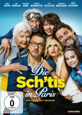 Die Sch'tis in Paris - Eine Familie auf Abwegen, Die Sch'tis in Paris Dvd