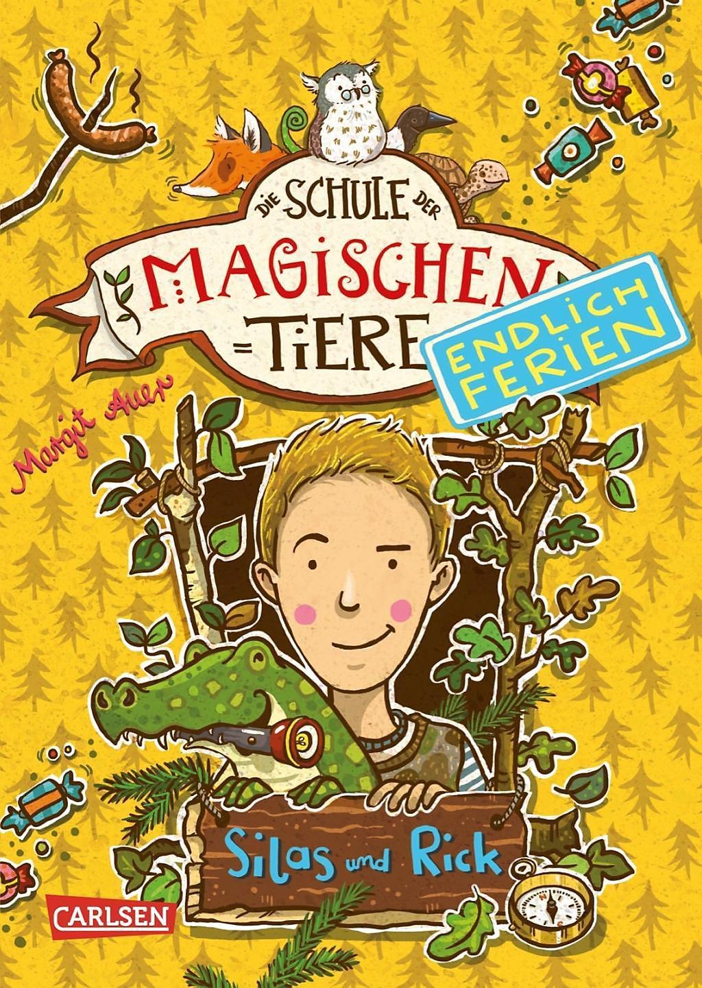 Die Schule Der Magischen Tiere Endlich Ferien Silas Und