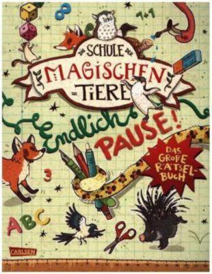 Die Schule der magischen Tiere: Endlich Pause! Das grosse Rätselbuch, Nikki Busch, Margit Auer