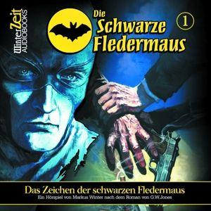 Die Schwarze Fledermaus - Das Zeichen der Schwarzen Fledermaus, 1 Audio-CD, G. W. Jones