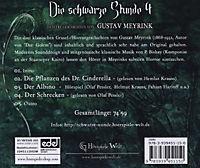 Die Schwarze Stunde, Audio-CDs: Folge.4 Die Pflanzen des Dr. Cinderella und andere Geschichten, 1 Audio-CD - Produktdetailbild 1