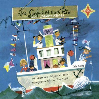 Die Seefahrt nach Rio, 1 Audio-CD, James Krüss
