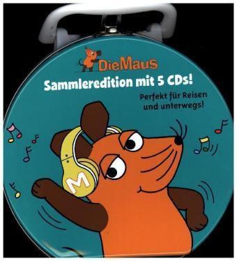 Die Sendung mit der Maus Sammelbox, 5 Audio-CDs, Diverse Interpreten
