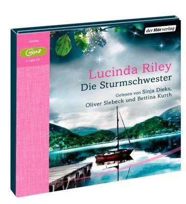 Die sieben Schwestern - Die Sturmschwester, MP3-CD, Lucinda Riley