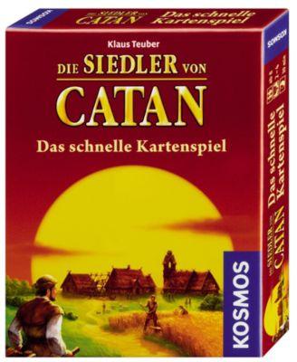 Die Siedler von Catan- Das schneller Kartenspiel, 2-4 Spieler, ab 8J, Klaus Teuber