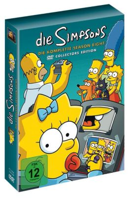 Die Simpsons - Season 8, Dvd-tv Serien Box