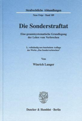 Die Sonderstraftat., Winrich Langer