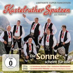 Die Sonne scheint für alle (Limited Super Fanedition, CD+DVD), Kastelruther Spatzen