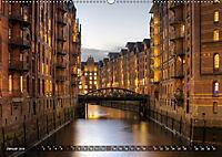 Die Speicherstadt (Wandkalender 2019 DIN A2 quer) - Produktdetailbild 1