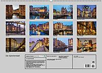 Die Speicherstadt (Wandkalender 2019 DIN A2 quer) - Produktdetailbild 13
