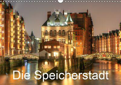 Die Speicherstadt (Wandkalender 2019 DIN A3 quer), Joachim Hasche