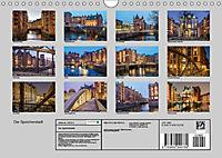 Die Speicherstadt (Wandkalender 2019 DIN A4 quer) - Produktdetailbild 13