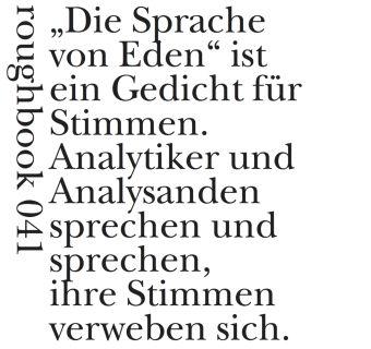 Die Sprache von Eden - Robert Kelly pdf epub