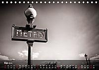 Die Stadt der Liebe. Ein fotografischer Streifzug durch Paris (Tischkalender 2019 DIN A5 quer) - Produktdetailbild 5